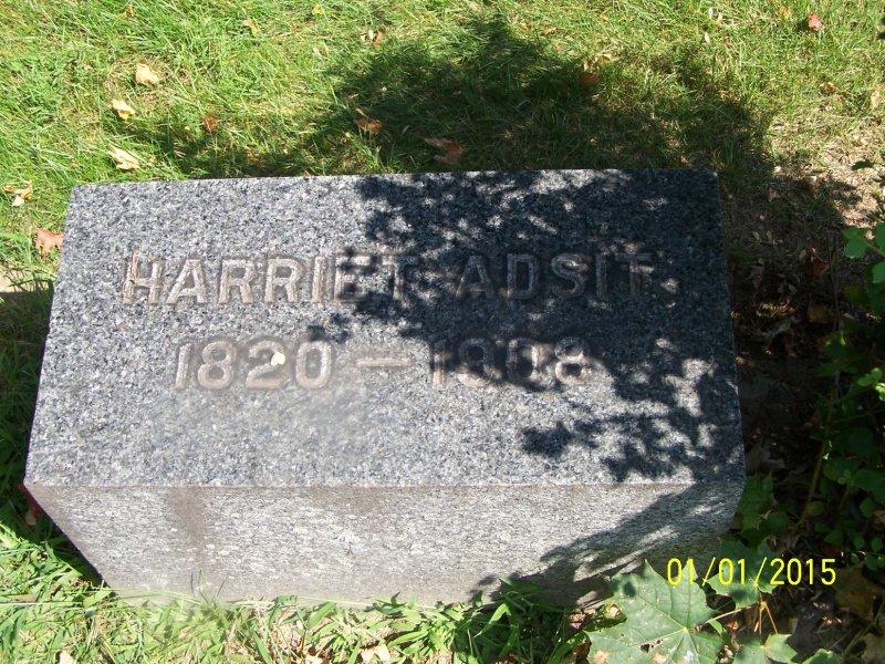 Abbott, Harriet Adsit flat