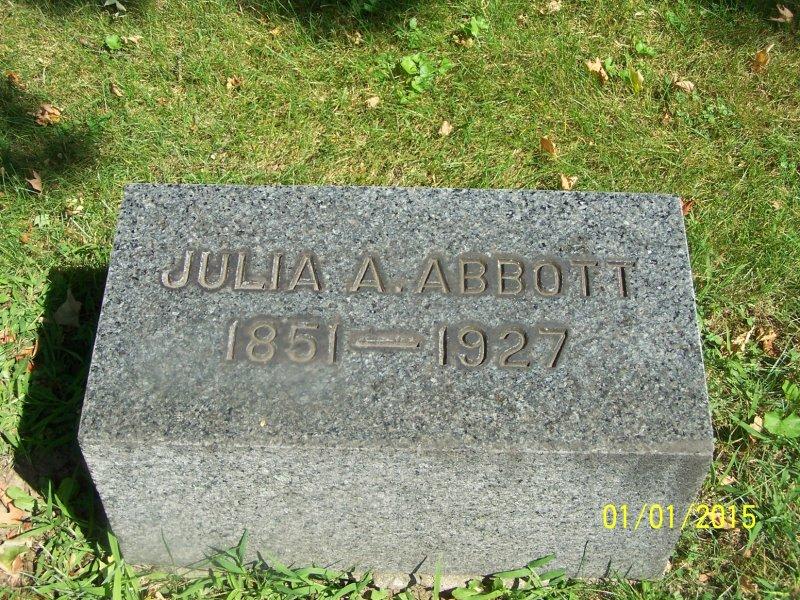 Abbott, Julia A. flat